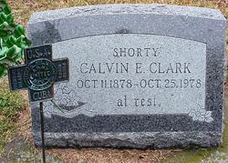 Calvin E Shorty Clark