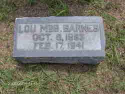 Lou <i>McBride</i> Barnes