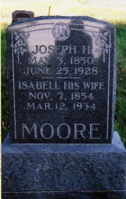 Isabelle <i>Faucett</i> Moore
