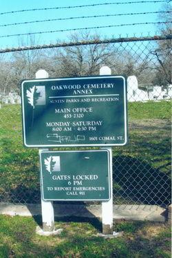 Oakwood Cemetery Annex