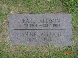 Pearl Allison