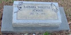 Barbara <i>Doolittle</i> Atwood