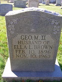 Geo. M. Brown, II