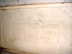 John Marshall Slaton