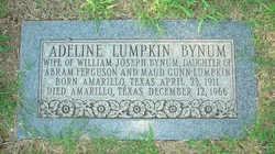 Adeline <i>Lumpkin</i> Bynum