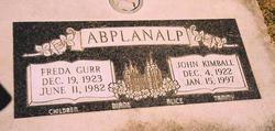 John Kimball Abplanalp