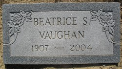 Beatrice <i>Spence</i> Vaughan
