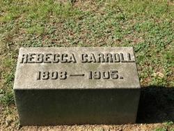 Rebecca <i>Danley</i> Carroll