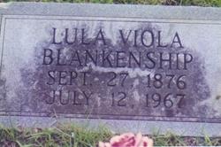 Lula Viola <i>Knowles</i> Blankenship