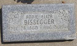 Annie Elisabeth Eliza <i>Tobler</i> Bissegger