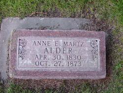 Anna Elisabetha <i>Merz</i> Alder