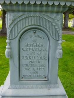 Barbara A Bair