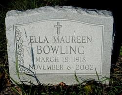Ella Maureen <i>Jarboe</i> Bowling