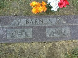 Walter Earl Barnes