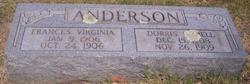 Frances Virginia Anderson