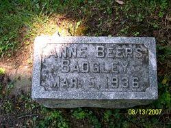 Anne <i>Beers</i> Badgley