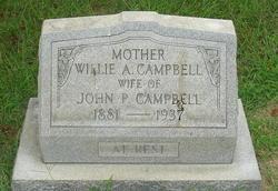 Willie A. <i>Nichols</i> Campbell