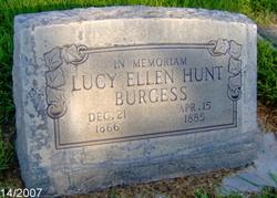 Lucy Ellen <i>Hunt</i> Burgess