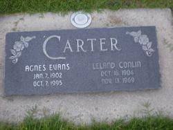 Agnes Evans Carter