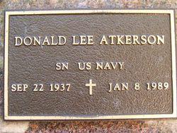 Donald Lee Atkerson