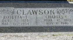 Rosetta <i>Thorpe</i> Clawson