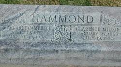 Clarence Milton Hammond