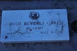 Chloe Beverly <i>Hammond</i> Green