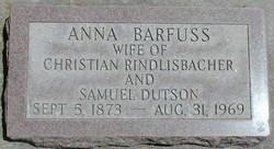 Anna <i>Barfuss</i> Rindlisbacher
