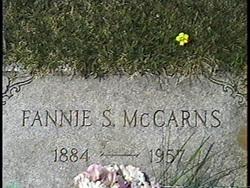 Fannie S. <i>Ellison</i> McCarns
