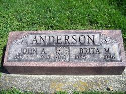 Brita M <i>Hendee</i> Anderson
