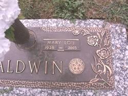Mary Lou <i>McMurray</i> Baldwin
