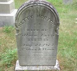 Hettie <i>Horton</i> Furze