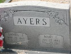 Mary Elizabeth <i>Ivie</i> Ayers