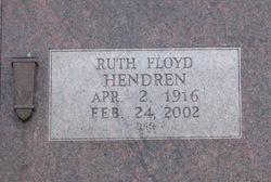 Eula Ruth <i>Floyd</i> Hendren