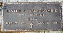 Lester C Abercrombie