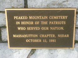 Peaked Mountain Cemetery