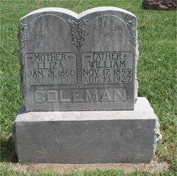 William M Coleman, Sr