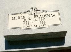 Merle Geraldine <i>Griffin</i> Bradshaw