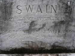 Frances Eugenia <i>Kidwell</i> Swain