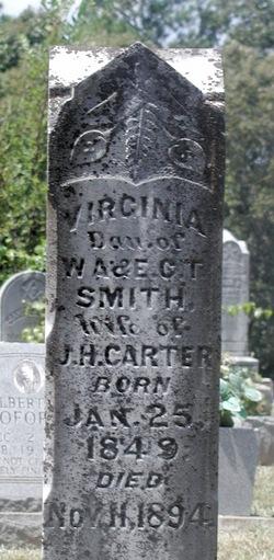 Virginia <i>Smith</i> Carter