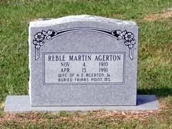 Reble <i>Martin</i> Agerton