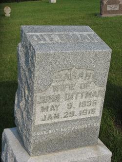 Sarah <i>Enfield</i> Dittmar