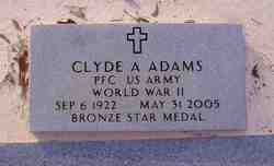 Clyde Asa Adams