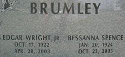 Bessanna Bright <i>Spence</i> Brumley