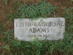 Edith <i>Rathbone</i> Adams