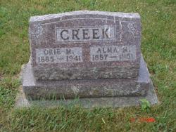 Alma Mryl <i>Carnes</i> Creek