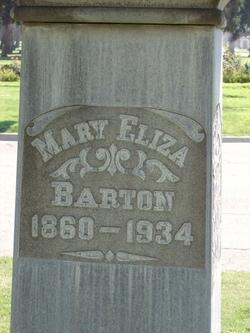 Mary Elizabeth Barton