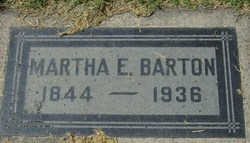 Martha Elizabeth Mattie <i>Hardy</i> Barton