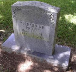 Bernardine Bernardine Pickett