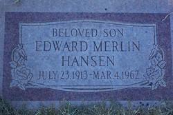 Edward Merlin Hansen
